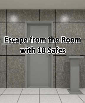 Escape from the Room with 10 Safes
