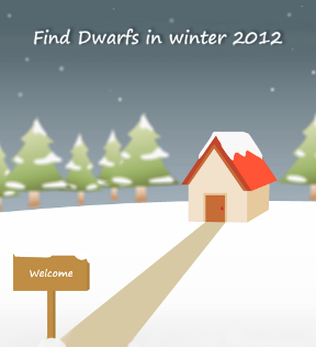 Find Dwarfs in Winter 2012