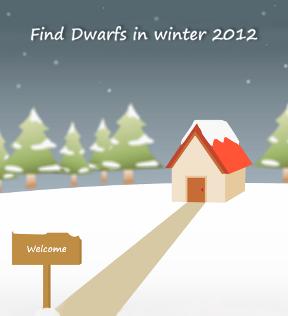 Find Dwarfs in Winter 2012
