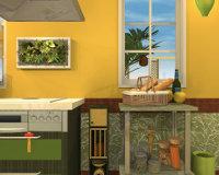 Fruit Kitchens No.11: Pineapple Yellow