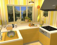 Fruit Kitchens No.4: Lemon Yellow