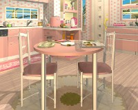 Fruit Kitchens No.5: Peach Pink