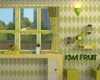 Fruit Kitchens No.08: Kiwi Green