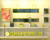 Fruit Kitchens No.9: Grapefruit Yellow
