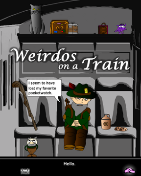 Weirdos on a Train