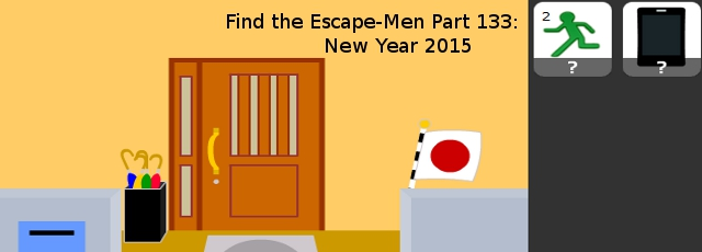 Find the Escape-Men Part 133: New Year 2015