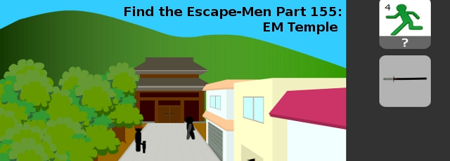 Find the Escape-Men Part 155: EM Temple