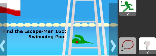 Find the Escape-Men 160: Swimming Pool