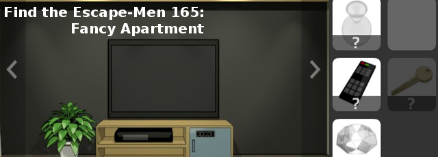 Find the Escape Men 165: Fancy Apartment