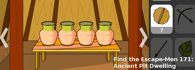 Find the Escape-Men 171: Ancient Pit Dwelling