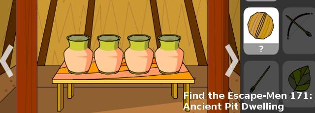 Find the Escape-Men 171: Ancient Pit Dwelling