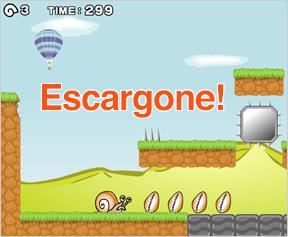 Escargone screen