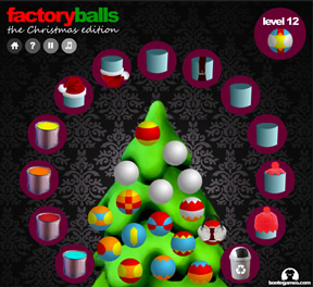Factory Balls Christmas Edition