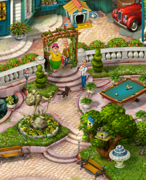 Play Gardenscapes Online Games