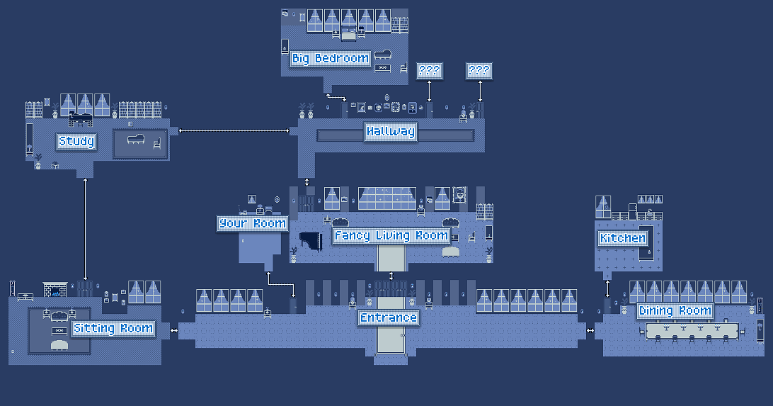 Room Names Are Taken From The Way Maps Labelled When Game Is Opened In RPGMaker