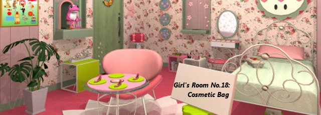 Girl's Room No.18: Cosmetic Bag