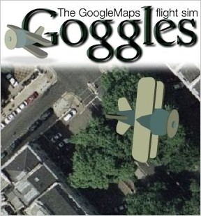 Goggles Flight sim