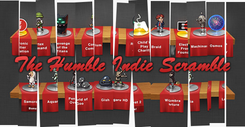 Humble Indie Scramble