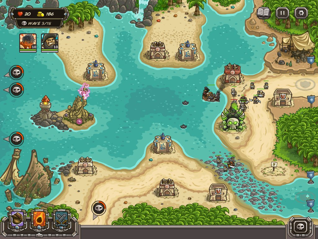 Kingdom Rush Frontiers - Walkthrough, Tips, Review