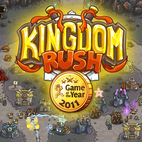 Kingdom Rush is Game of the Year!