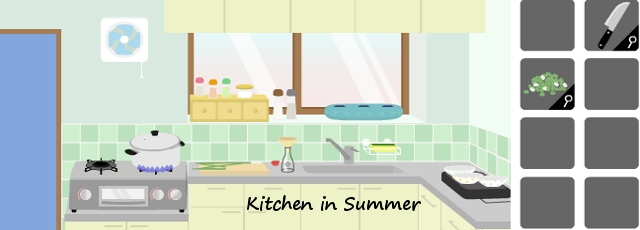 Kitchen in Summer