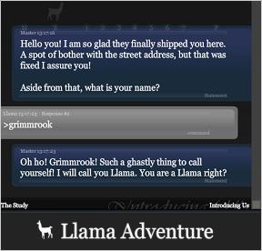 Llama Adventure