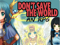 Don't Save the World