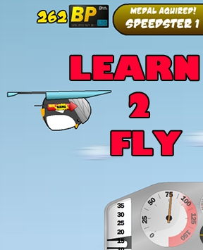 Fun Launching Game - Learn 2 Fly: The Emperor Strikes Back