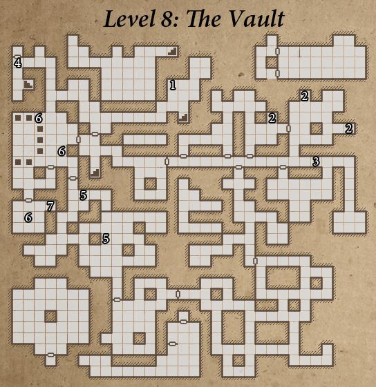 Legend of grimrock walkthrough tips review level 8 map publicscrutiny Images
