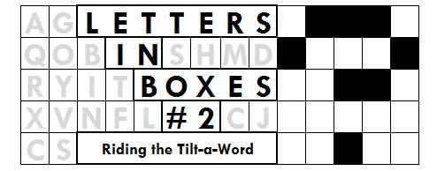 Letters in Boxes #2