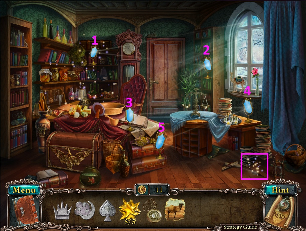 Lost Souls: Enchanted Paintings - Walkthrough, Tips, Review