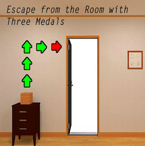 Escape from the Room with Three Medals