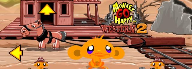 Monkey GO Happy Western 2