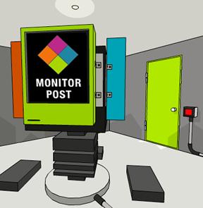 Monitor Post