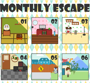 Monthly Escape 1-6