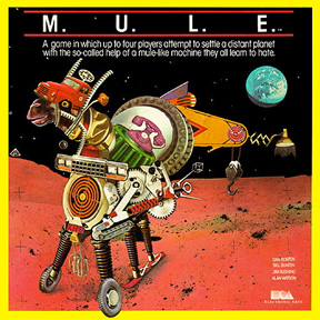 Original M.U.L.E. box art