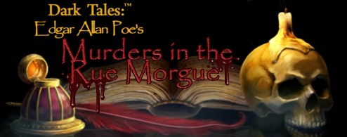 DARK TALES:Edgar Allan Poe-Murders in the RUE MORGUE
