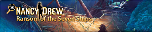 Nancy Drew Ransom of the Seven Ships