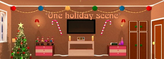 One Holiday Scene