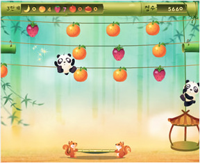 Panda Fruit Bounce