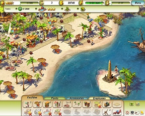 Paradice Beach Game