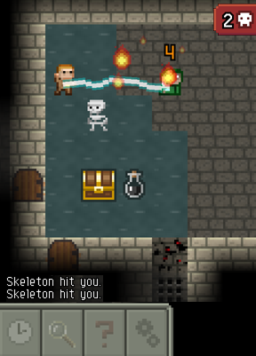 Pixel Dungeon, Dungeon Exploration and Pixel Graphics