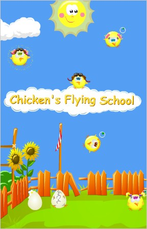 Chickens Flying School
