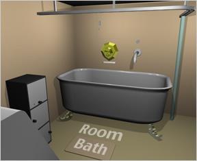 Escape The Room Bathroom room bath - walkthrough, tips, review