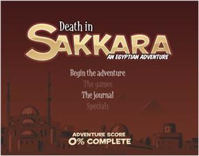 Death in Sakkara