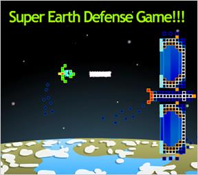 Super Earth Defense Game