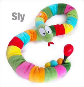 Sly plushie
