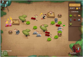 Treehouse Defense screen 1