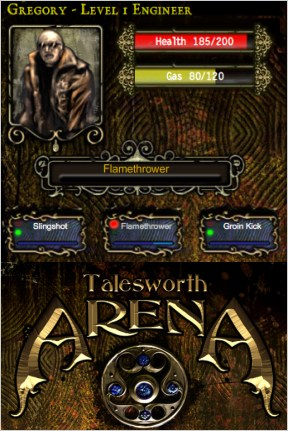Talesworth Arena: Death Watch