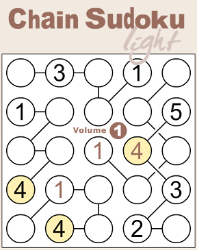 Conceptis Sudoku Light Volume 1